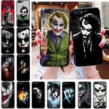Mroczny rycerz Joker Karta etui na telefon do Huawei Honor 7X 7A 7C 8A 8C 8X 9X 9A 10i 20i 20S 20lite 6A 6C
