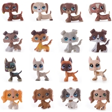 Rare animal pet shop lps toy dog dachshund brown 556 standing short hair cat white pink Children's Christmas Gifts Free Shipping lps cat toys pet shop animal cyan eyes black kitty figure doll child toy free shipping christmas gifts