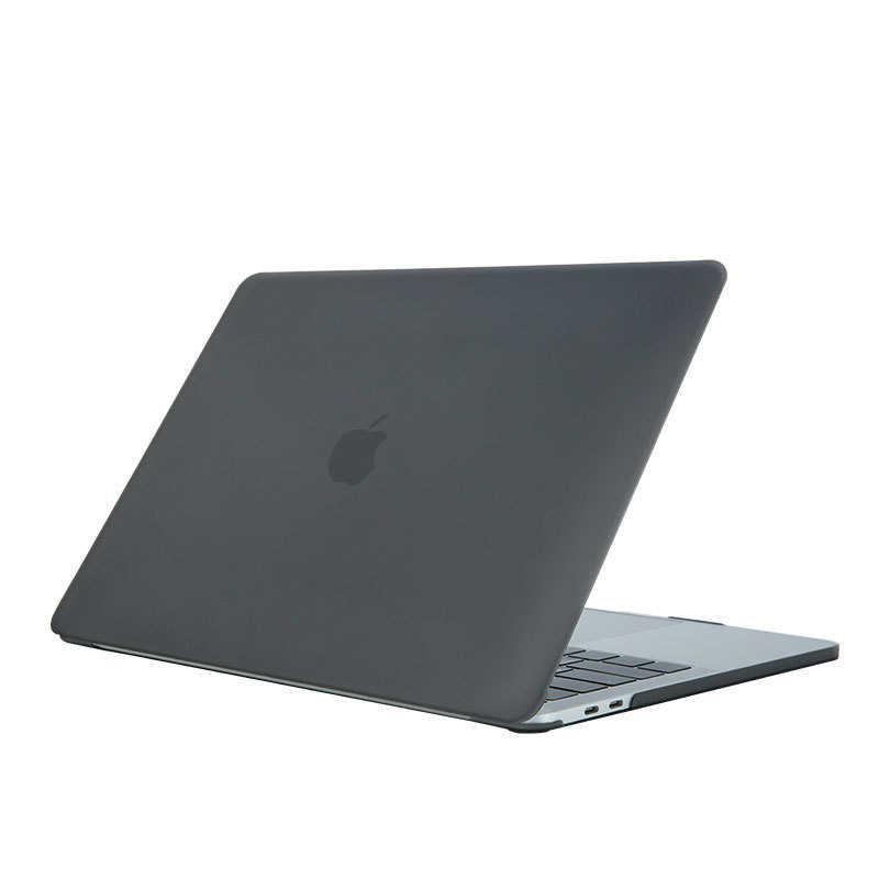 Lolihippo Matte Laptop Pelindung Kasus Solid Pesawat Buram Notebook untuk Apple MacBook New Air 12 13.3 Inch Pro 13 15 Inch