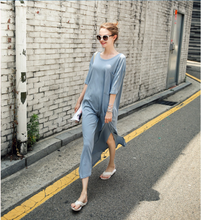 2019 summer pregnant women breastfeeding dress large size loose short sleeved T-shirt Long skirt pregnant women skirt стоимость
