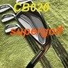 Новинка 2020, утюги для гольфа CB620, набор кованых утюгов (3, 4, 5, 6, 7, 8, 9 P) с проектом X6.0, стальной вал, 8 шт., 620CB, клюшки для гольфа