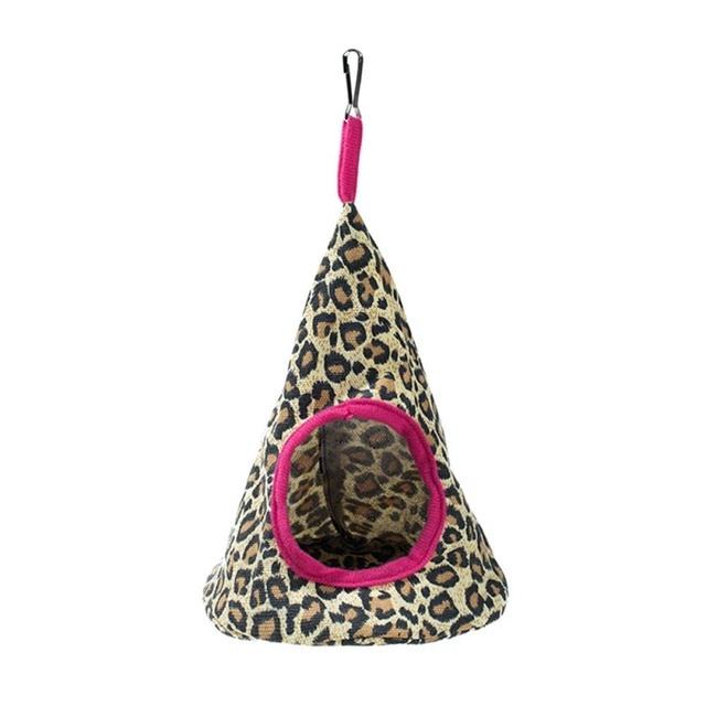 New 5 Colors Pet Cone Basket Birdhouse Hammock Plush Bird Toys Parrot Hammock Warm Hammock Pet Cave Cage Tent Toy House 5