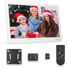 Andoer 13,3 дюймов цифровая фоторамка FHD 1920*1080 ips экран поддержка календарь/часы/MP3/фотографии/1080 P видео плеер