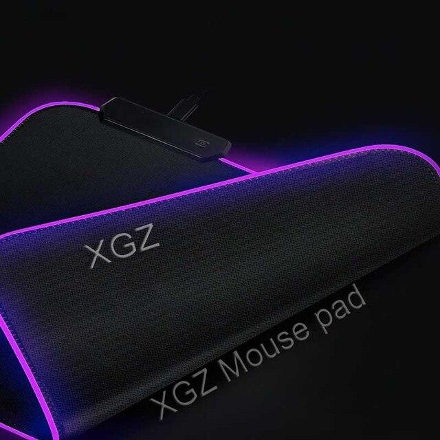 популярный большой коврик для мыши mairuige с аниме rgb черный фотография