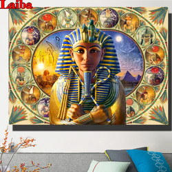 Ancient egypt pharaoh Diamond Painting DIY Diamond Embroidery Full Square Round drill diamond Picture mosaic puzzle wall decor