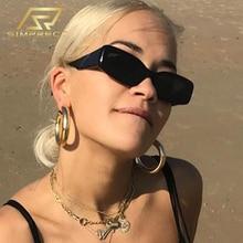 SIMPRECT 2020 Square Sunglasses Women Fashion Small Frame