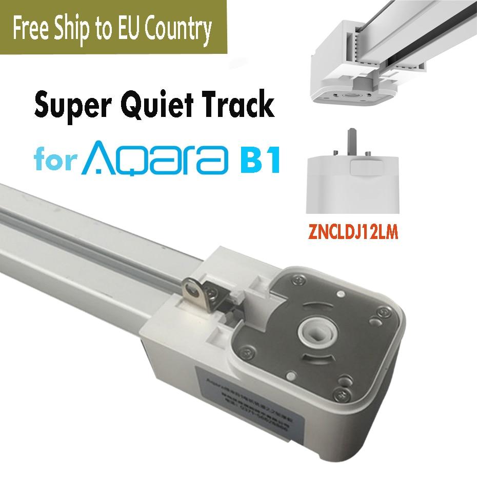 super silent electric curtain track for aqara b1 aqara motor smart curtain rail control system aqara home app free to eu country