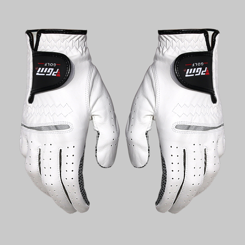 Golf Gloves Men's Left Right Hand Soft Breathable Pure Sheepskin With Anti-slip Granules Golf Gloves 1pcs