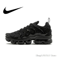 Original Authentic Nike Air Vapormax Plus TM Men\'s Running Shoes Outdoor Sneakers Comfortable Breathable 2018 New Arrival 924453