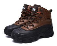 Botas de caza para excursionismo al aire libre de invierno  botas de acero para hombre  botas impermeables para soldar  botas de nieve para hombres  for-40C