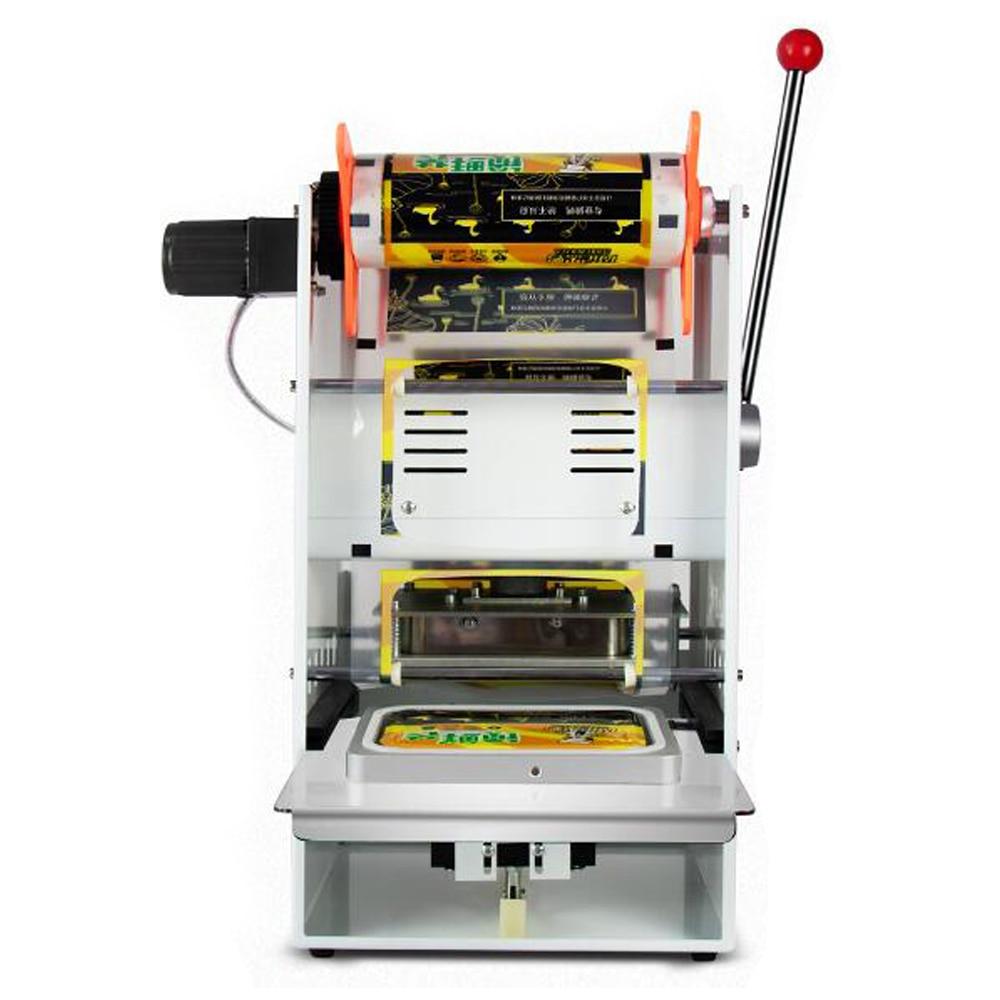 450 500 шт/час машина для запечатывания пластиковых коробок для пищевых продуктов коммерческого использования