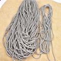 Хлопковая веревка со стразами 5 метров, плотная белая круглая бусина с кристаллами, для шитья «сделай сам», украшение для одежды, обуви, бант...