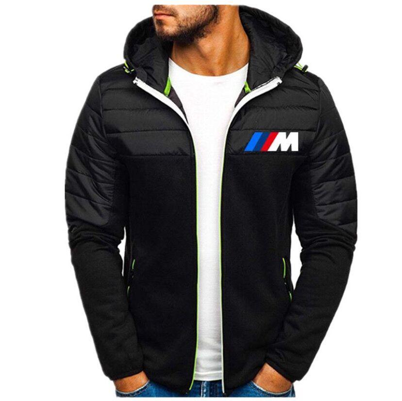 Новая мужская зимняя теплая куртка, Мужская толстовка с длинным рукавом, деловая Повседневная рубашка на молнии, теплое пальто