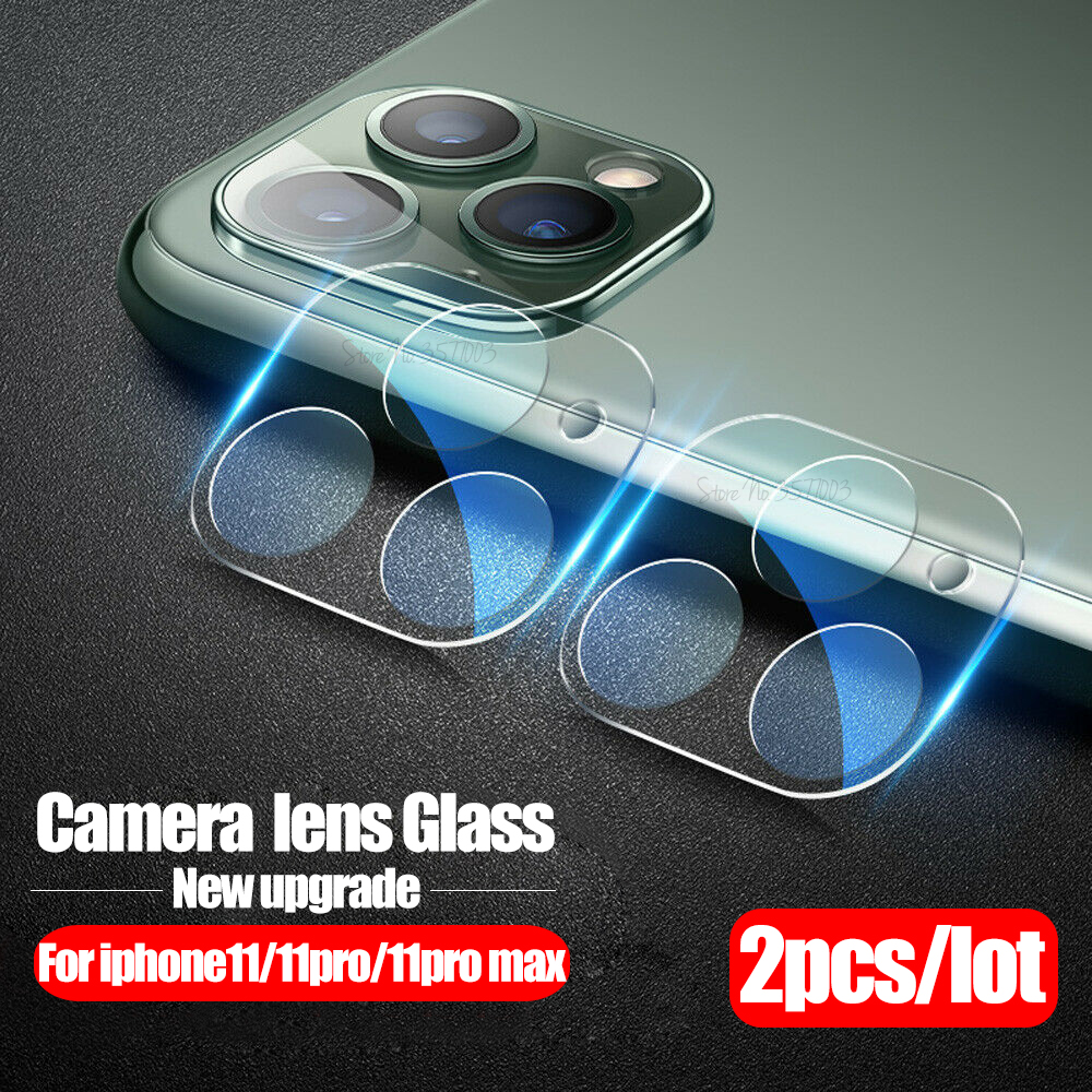 2pcs Full Cover Camera Tempered Glass For Iphone 11 Pro Lens Screen Protector On The For Iphone 11 Pro Max 2019 Protective Film