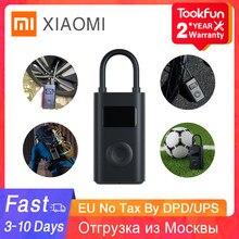 Top marque Xiaomi MIJIA gonflable trésor électrique compresseur d'air pompe rapide gonflage pression vélo moto gonfleur pompe
