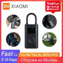 Top Marke Xiaomi MIJIA Aufblasbare Schatz Elektrische Luft Kompressor Pumpe Schnelle Inflation Druck Fahrrad Motorrad Inflator Pumpe