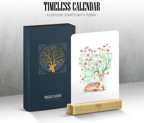 The Deer Creative Timeless Calendar 2020 Undated Agenda Paper Pack 150mm*230mm Free Shipping