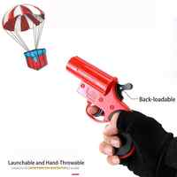 Eating Chicken Game Toy Rescue Signal Water Bomb Launching Parachute Parent-child Interactive Toy Gun Gift Toys