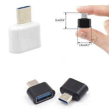 1pc/2pcs Type-C Male to USB 3.0 Female USB Converter For Xiaomi mi6 Nexus 5x 6p Samsung MacBook USB Adapter image