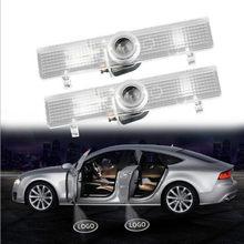 JURUS-2 uds. De luz LED inalámbrica para puerta de coche, proyector con logotipo, proyección de luz Led, lámpara de bienvenida para lámparas decorativas Infiniti JX35 QX60