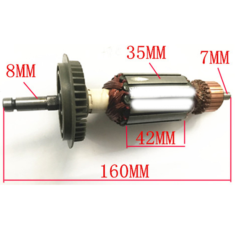 Electric Hammer Armature Rotor Replacement For Bosch GBH4 GBH4DSC GBH4DFE AC220-240V Power Tool Spare Parts
