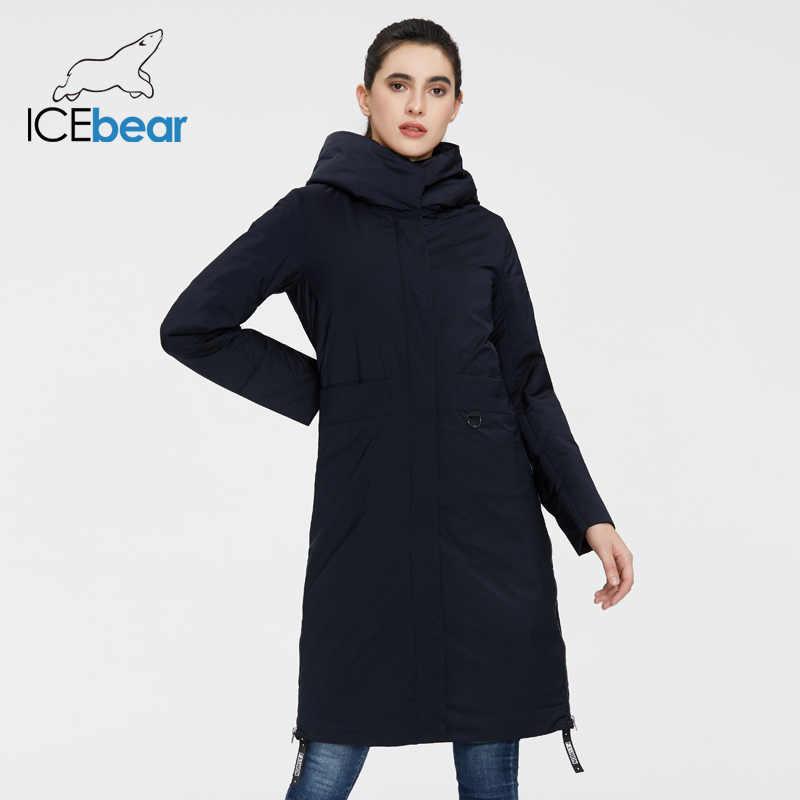 Icebear 2020 女性春ジャケット品質の女性のコートロング女性服ブランドの服 GWC20066I