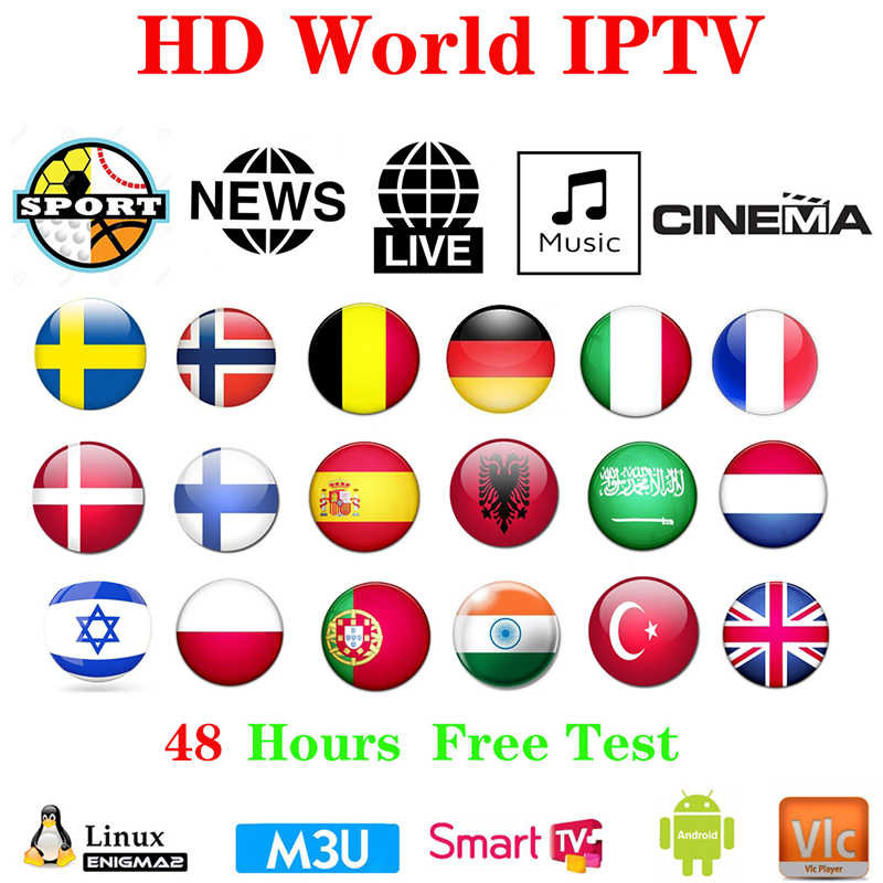 IPTV xxx Subscriptio IPTV M3U Enigma2 IPTV Europe n Rocksat Spain France UK German French Poland Channels For Android Box Smar
