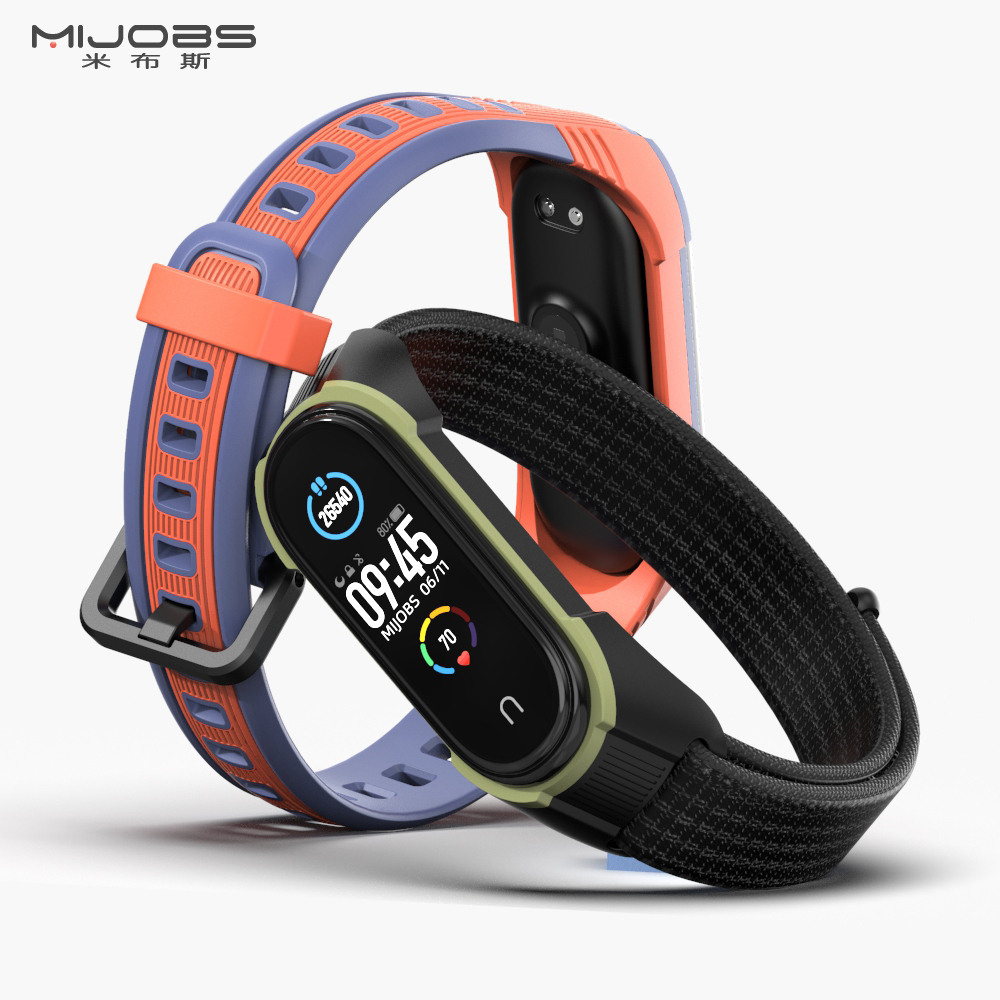 Mi Band 5 Strap For Xiaomi Mi Band 4 NFC Global Version Silicone Bracelet For Xiaomi Mi Band3 Watch Band Compatible Bracelet(China)