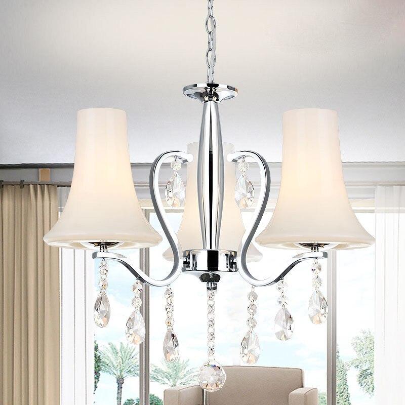 Modern Contracted Three Restaurant Lamp European Style Led Bedroom Pendant Lamp Luminaire Suspendu