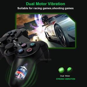 Image 4 - Para ps2 controlador sem fio gamepad manette para playstation 2 controle mando sem fio joystick para ps2 console acessório