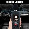 Цифровой измеритель уровня звука  измеритель уровня шума  децибел  инструмент для тестирования  ЖК-дисплей  измеритель уровня шума FKU66