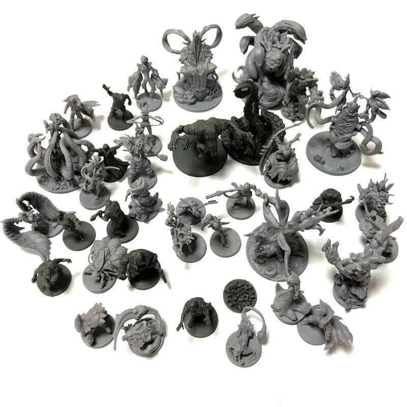 Yeni D & D Dungeons ve ejderha kurulu rol yapma oyunları minyatürleri modeli yeraltı şehir serisi Cthulhu savaşları oyunu rakamlar