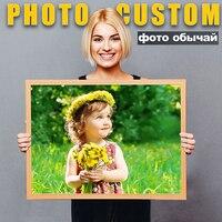 Personalización de foto propia DIY, pintura de diamante 5D, imagen artística Personal de diamantes de imitación, Kit de punto de cruz, taladro completo bordado, regalo de mosaicos