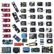 Arduino 45 in 1 센서 모듈 구색 스타터 키트 37in1 온도 센서 세트 37 in 1 For UNO MEGA2560 초음파 센서