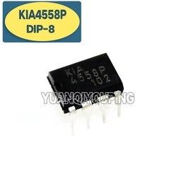 10 шт. KIA4558P DIP-8 KIA4558 DIP8 UPC4558C DIP C4558C C4558
