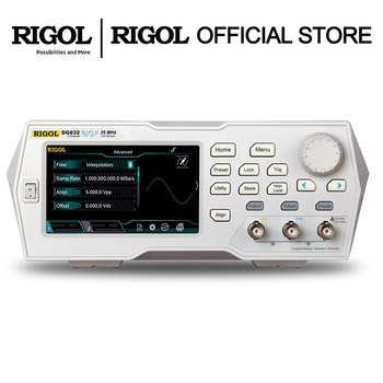 RIGOL DG811 Signal Generator Function/Arbitrary Waveform Function Generator 10MHZ 1 output channels fast arrival sg1638l function waveform signal generator counter 0 02hz 3mhz ac 220v with digital display