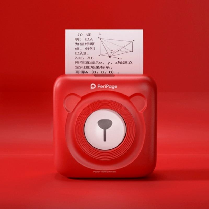 Impressão sem Fio Peripage Mini Impressora Térmica Portátil Papel Foto Bolso 58 mm Bluetooth Impressoras Android Ios