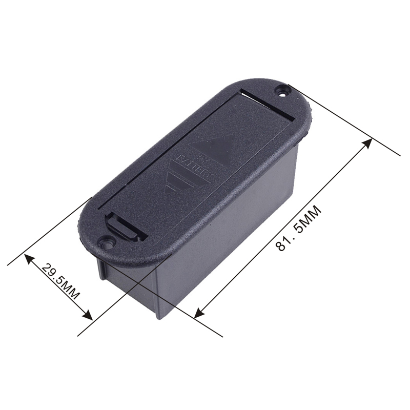 GETMusic Active Bass Guitar Pickup 9V Battery Boxs//Holder//Case//Compartment Cover