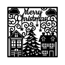Naifumodo Merry Christmas Dies Metal Cutting for Card Making Scrapbooking Embossing Cuts Stencil Craft New 2019