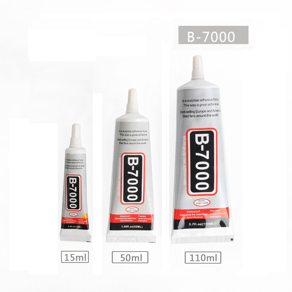15ML Original B7000 Glue Genuine B-7000 Multi Purpose Glue Adhesive Epoxy Resin Diy Crafts Glass Touch Screen Cell Phone Glue