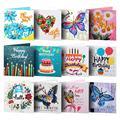 Алмазная живопись, открытки на день рождения, 5D «сделай сам», специальная алмазная живопись, открытки, подарок на день рождения и Рождество ...