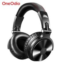 Oneodio bluetooth 5.0 ヘッドホン折りたたみ耳ステレオワイヤレスヘッドセットのスタジオヘッドフォン電話用マイクコンピュータ