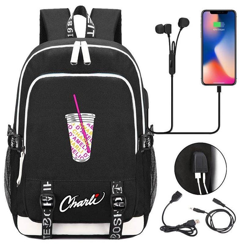 Купить модный холщовый рюкзак для девочек подростков женский дорожный