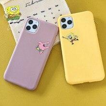 Cute Cartoon SpongeBobs phone case for iphone