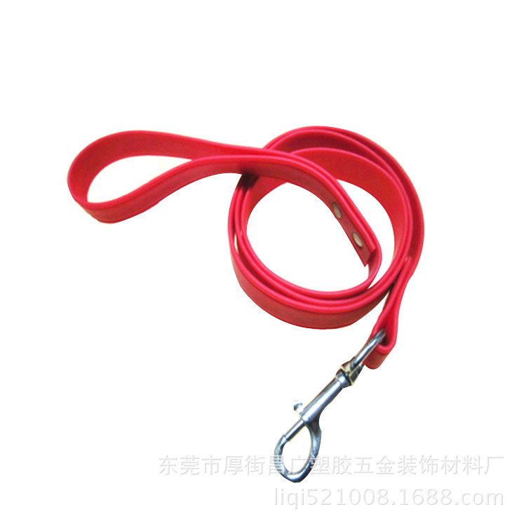 Pet Supplies Traction Running Sling Dog Faux Leather Hand Holding Rope Color PVC Traction Belt