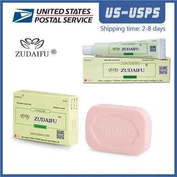 Dropship zudaifu Sulfur Soap Skin Conditions Acne Psoriasis Seborrhea Eczema Anti Fungus Bath Healthy Soaps Eczema Zudaifu Soap 1