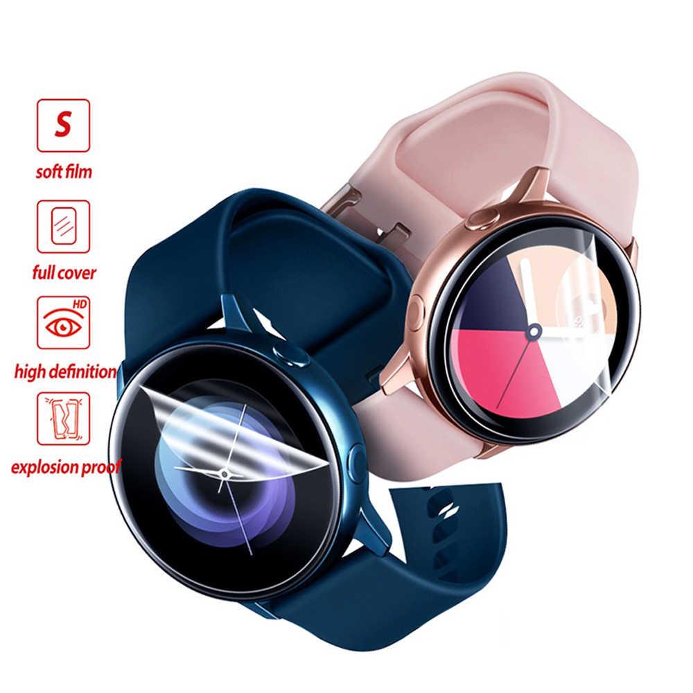 Nieuwe Soft TPU Hydrogel Film Beschermende Huid Smart Horloge Ultra-dunne Screen Protectors voor Samsung Galaxy Horloge Actieve 2 40mm 44mm