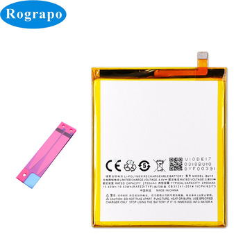 Batería de repuesto Original 2760mAh BU10 para teléfono móvil Meizu U10 U680H