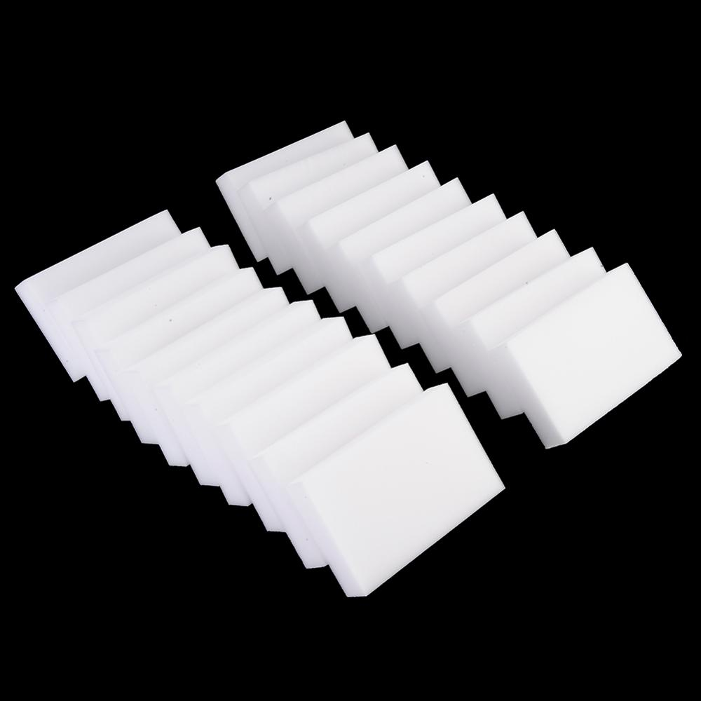 10/20 PCS White Magic Sponge Eraser Melamine Cleaner Multi-Functional Kitchen Bathroom Cleaning Tools Sponge 100*58*20mm