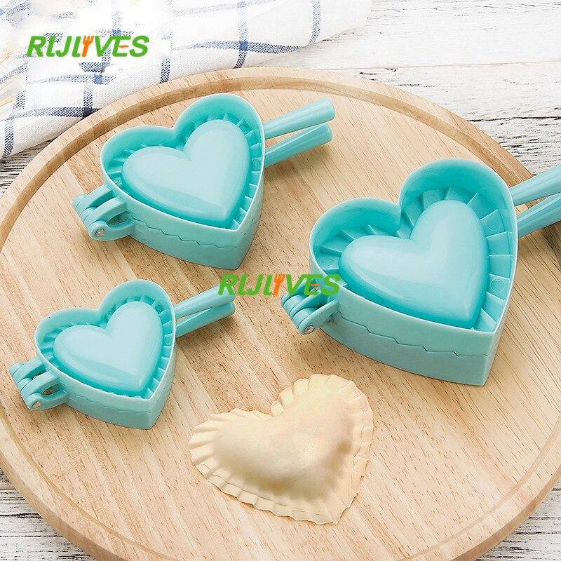 S/M/L 3 Model Kitchen Dumpling Mold Heart Butterfly Flower Shape DIY Dumplings Making Dough Press Pie Dumpling Ravioli Mold Baki